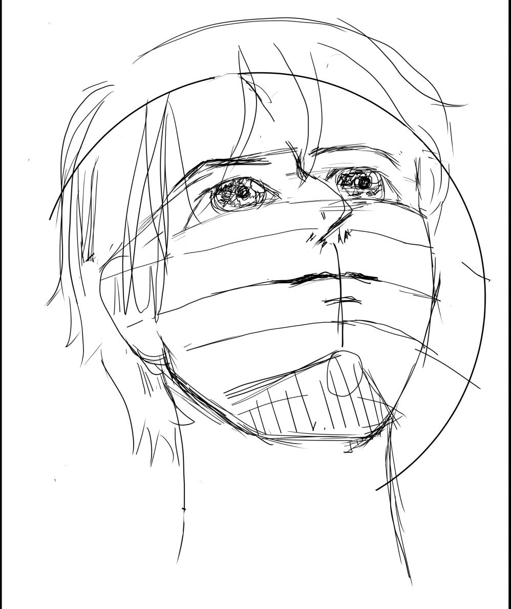 絵を描く練習